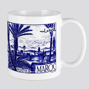 1947 Morocco Marrakesh Postage Stamp Mug